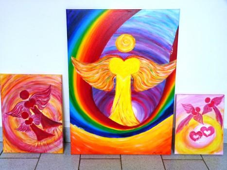"""""""Andělský triptych""""  – ABAK – počítadlo"""