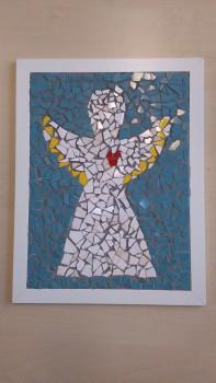 Mozaika anděla - Prapos