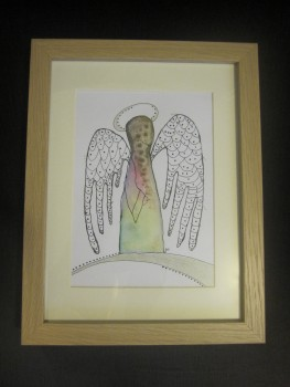 Obraz s Andělem - Slezská diakonie