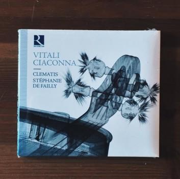CD s názvem VITALI CIACONNA - Sdružení Klíček