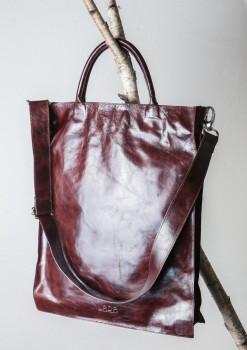 Ručně šitá kabelka zkoziny