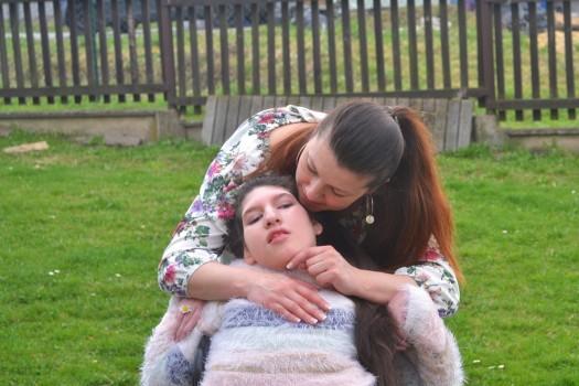 Čtyři ženy v chalupě – osobní péče pro Klárku