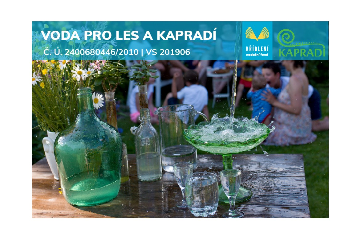 Voda pro les a KAPRADÍ/2020