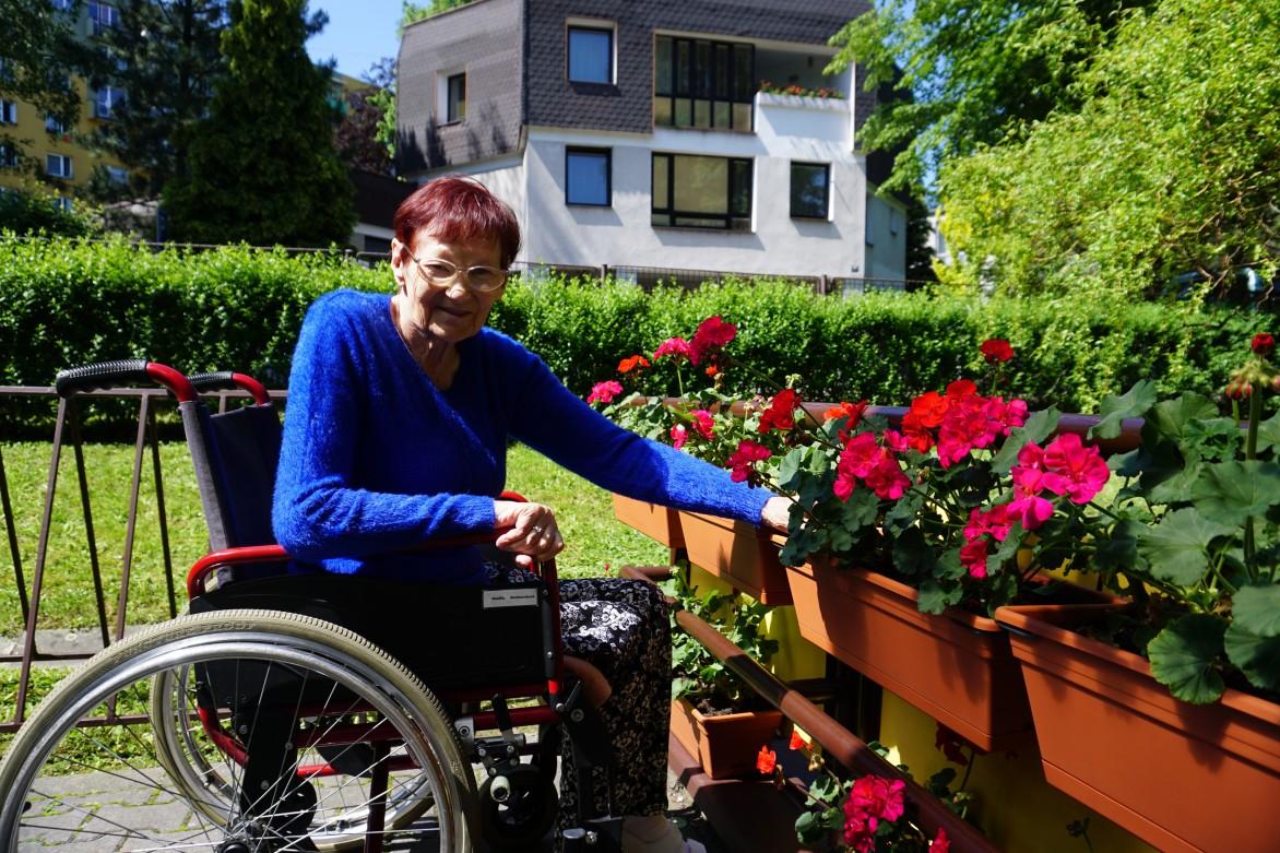 Pohodová zahrada pro seniory /2020