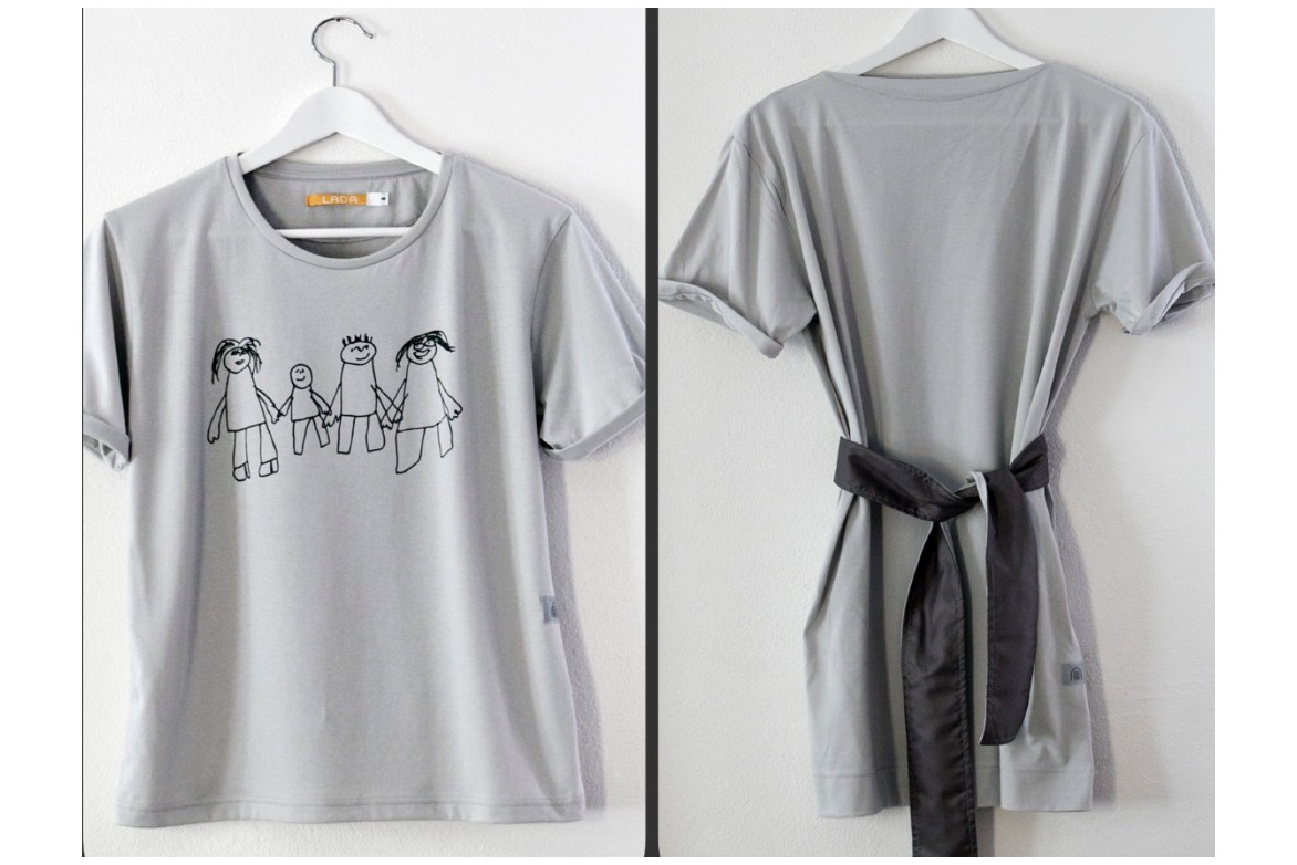 Šaty a tričko LADAfashion